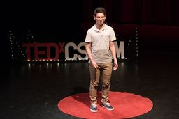 Brentwood Student Presents TEDx Talk on Research Project
