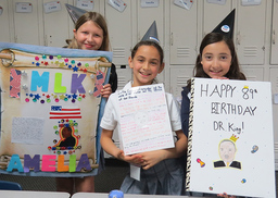 4th Graders Wish Dr. Martin Luther King Jr. a Very Happy Birthday