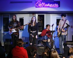 Upper School Coffeehouse: Talent, Compassion, Support, Joy, and Community