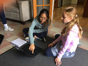 5th Graders Learn Scratch Coding from 8th Graders