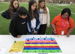 Middle School Hosts Best Buddies at Annual Probability Carnival