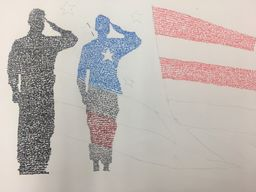 Calligrams for Veterans