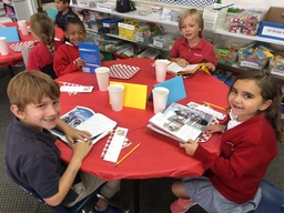 Book Tasting in the 1st Grade