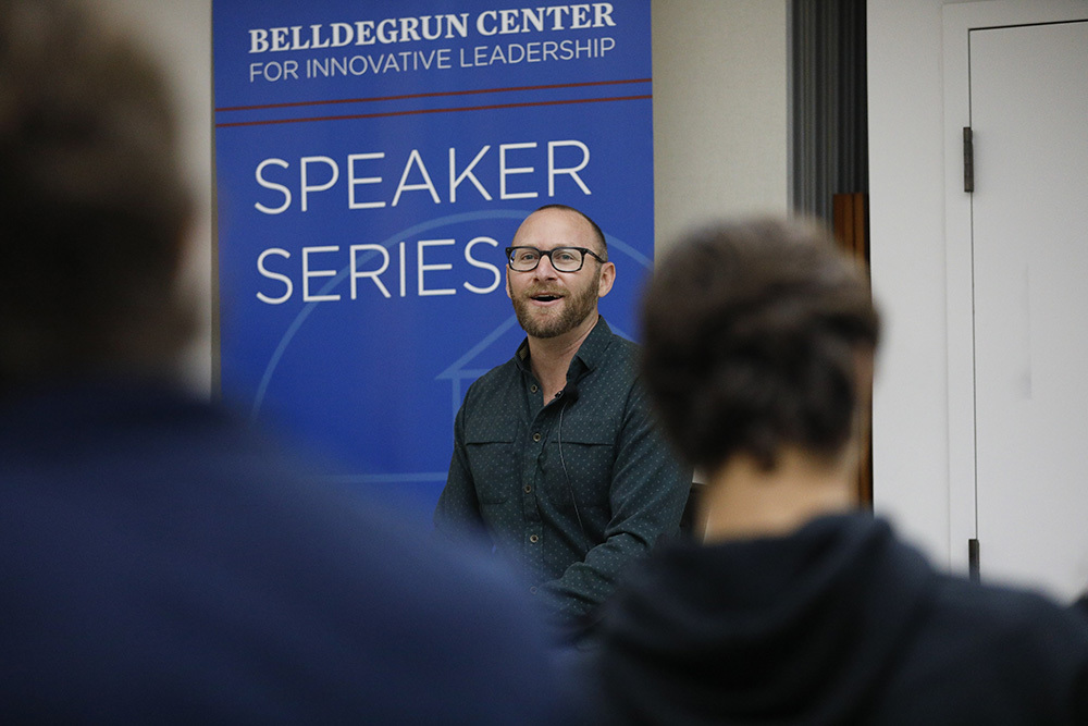 Inaugural Belldegrun Center for Innovative Leadership Speaker Series