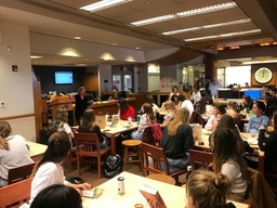 Poetry Reading in the Upper School Library